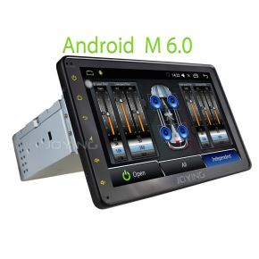 Joying 8 Inch Android Single Din Touch Screen Car Sound System Stereo Upgrade with Internal Digital AMP