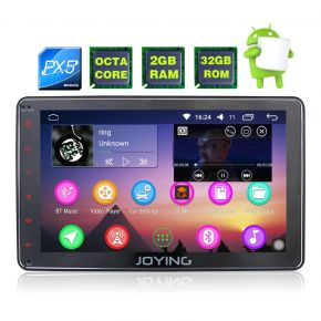 Joying Russia Warehouse 8'' Single Din Android Octa Core Car Sound System Head Unit
