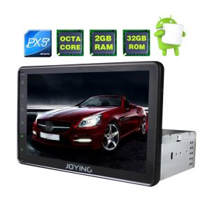Joying AU Warehouse 8 Inch Single Din Octa Core Touch Screen Android Navigation Head Unit