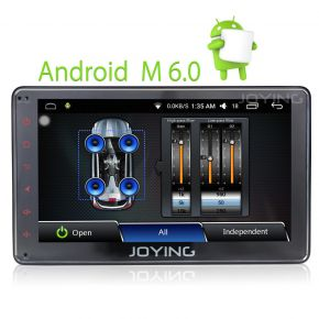 Joying Best 7 Inch Android Single Din Car Radio Head Unit Replacement With Bluetooth Digital AMP