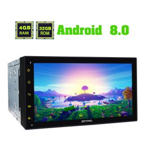 Joying 6.95 Inch Double Din Android 8.0 Car Head Unit Replacement 4GB