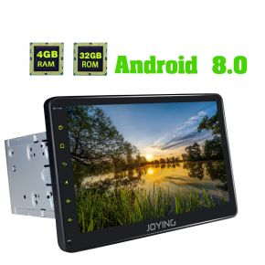 Joying Newest 10.1 Inch Big Screen Android 8.0 Oreo Car Navigation System 4GB/32GB