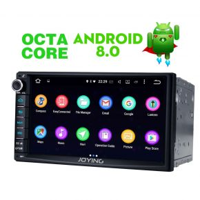 Joying EU Warehouse Android 8.0 Oreo Double Din Car Audio System 4GB/32GB