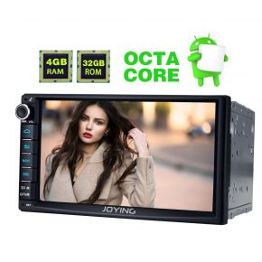 EU Warehouse 4GB/64GB Android 8.0 Touch Screen Car Head Unit Replacement