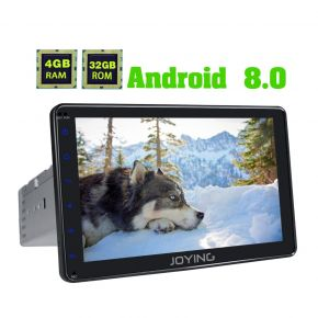 AU Warehouse Android 8.0 Single Din Carplay Head Unit Replacement 4GB/32GB