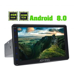 US Warehouse Android 8.0 Single Din Touch Screen Car Navigation System Stereo Upgrade 4GB