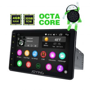 Joying Germany Warehouse Android 8.0 Oreo System 8 Inch Single Din Head Unit with 4GB+32GB