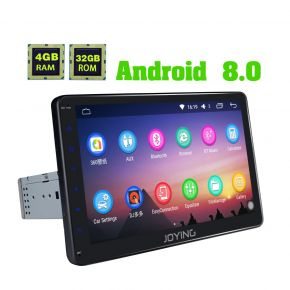 AU Warehouse Android 8.0 Car Sound System Big Touch Screen 4GB Stereo Upgrade