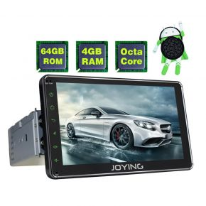 Joying Newest Android 7 Inch Single Din Octa Core 4GB/64GB Car GPS Navigation System
