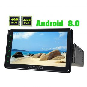 Joying EU Warehouse Android 8.0 Oreo 7'' Single Din Car Media Player with 4GB/32GB