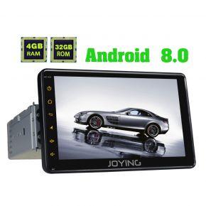 AU Warehouse android 8.0 Car Radio 7 Inch Single Din Bluetooth Head Unit 4GB