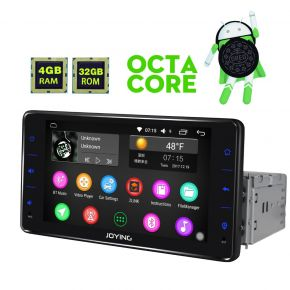 Germany Warehouse FYT Android 8.0 Oreo System 6.2'' Single Din Car Audio System 4GB+32GB
