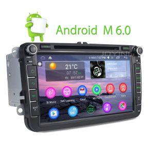 Joying Intel 8 Inch VW Golf Skoda Polo Android Car Stereo Ram 2GB Rom 32GB Auto Radio