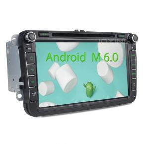 Joying EU Warehouse 8 Inch VW Android Car Bluetooth Navigation System for Skoda Passat CC