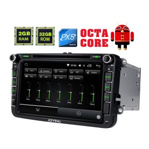 Joying EU Warehouse Android Octa Core In Car Entertainment System for Volkswagen Skoda Seat