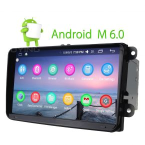 Joying Intel Android 9 Inch VW Car Stereo Navigation System For Amarok Skoda Polo CC