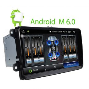 Joying EU Warehouse Best 9 Inch VW Android Car Stereo Navigation System For Passat Golf Jetta
