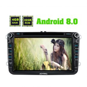 Joying AU Warehouse VW Android Head Unit Android 8.0 System 4GB/32GB with Bluetooth