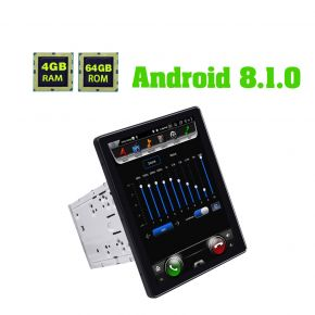 Joying Newest Android 8.1.0 Double Din Vertical Screen Car Sound System 4GB/64GB