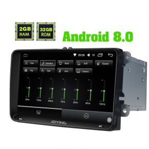 Joying Android 8.0 Oreo 9 Inch VW Skoda Golf Jetta Polo Car Sound System Stereo Upgrade 2GB/32GB