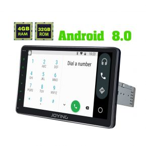 Joying Android 8.0 Oreo 10.1'' Touch Screen VW Car Music System with 4GB/32GB