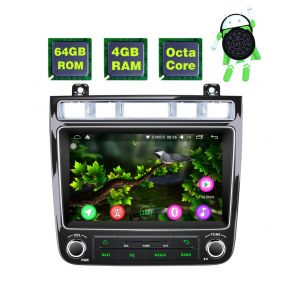 VW Touareg Android 8.0 Oreo 4GB/64GB Car Navigation System with Video Out