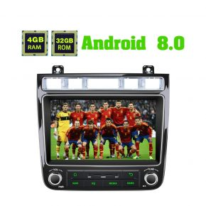 Joying Newest 4GB/32GB Android 8.0 VW Touareg Car Media System Head Unit with Digital Amp