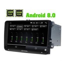 Joying Android 8.0 Oreo 9 Inch VW Skoda Golf Jetta Polo Car Sound System Stereo Upgrade 2GB/32GB