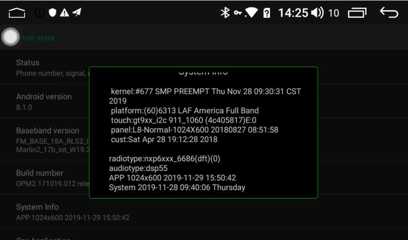 Joying Android 8.1 Intel Airmont SC9853i 2GB+32GB/4GB+32GB Car Stereo Latest Update