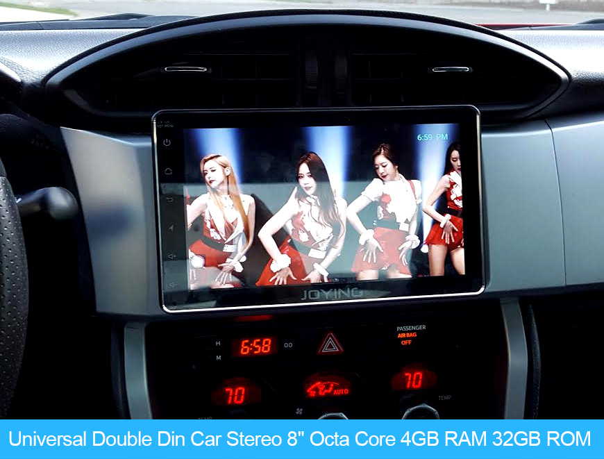 New Developed Joying 4GB/32GB PX5 Octa Core Car Stereo